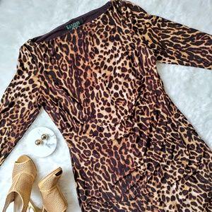 Ralph Lauren ▪ Leopard Print Dress